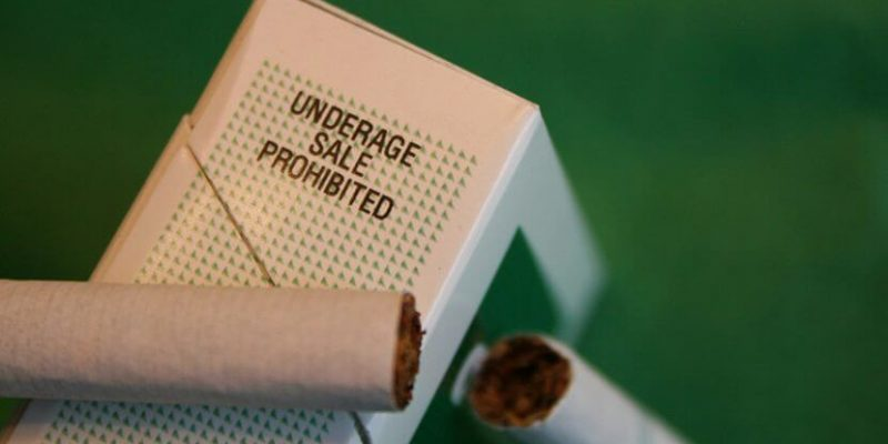 underage sales cigarettes