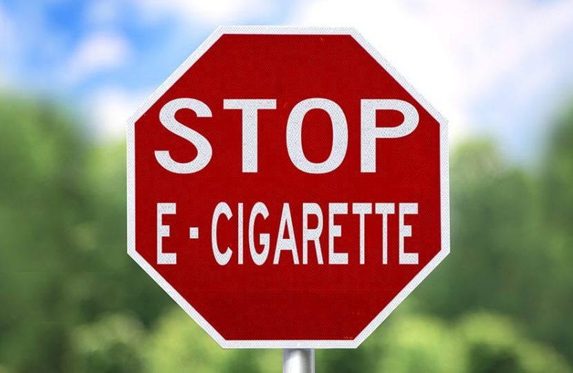 stop e-cigarette