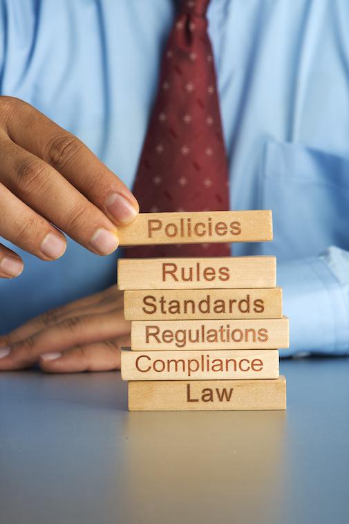 Policies, rules, legislation
